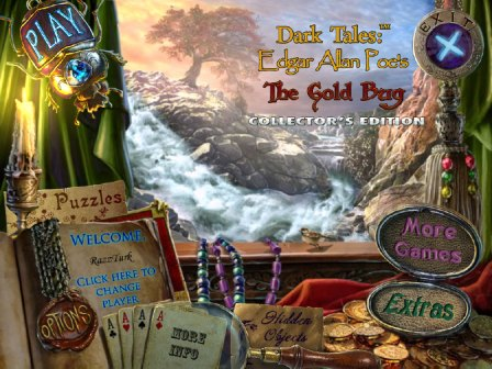 Dark Tales 4 Edgar Allan Poe's The Gold Bug Collector's Edition